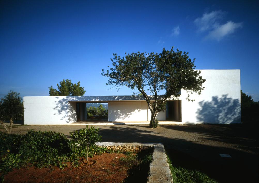 Roberto ercilla arquitectura casa en ibiza 1 1999 2001 - Arquitectos ibiza ...