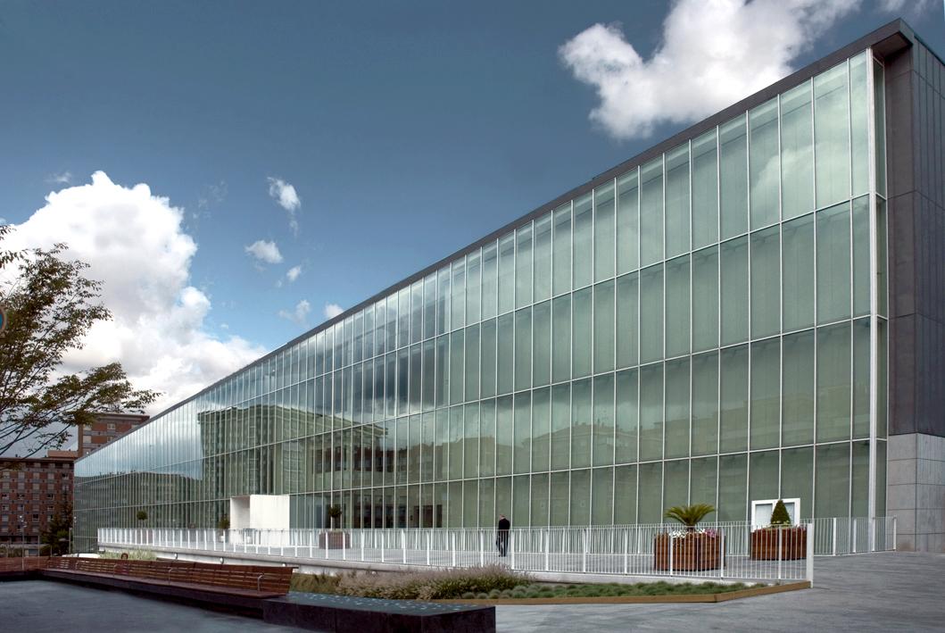 Roberto ercilla arquitectura conservatorio m sica - Conservatorio musica bilbao ...